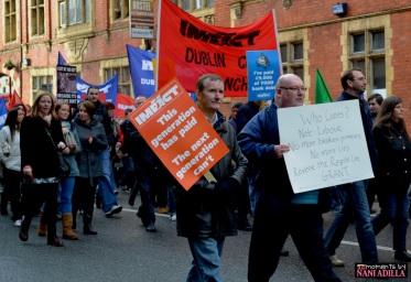 General Strike | Dublin, Ireland (Shot on Nikon D3100)
