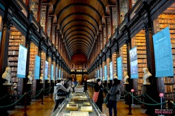 The Old Library at Trinity College | Dublin, Ireland (Shot on Nikon D3100)