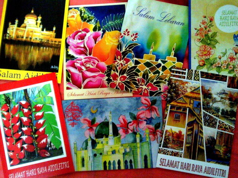 MFPA's self-painted greeting cards