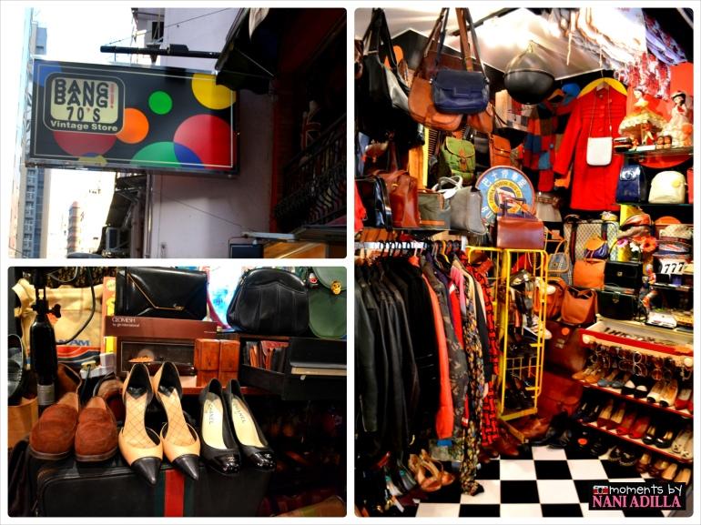 Bang Bang 70s vintage store
