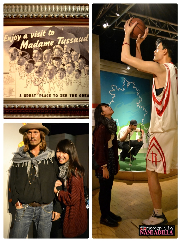Madam Tussaud's Museum @ The Peak