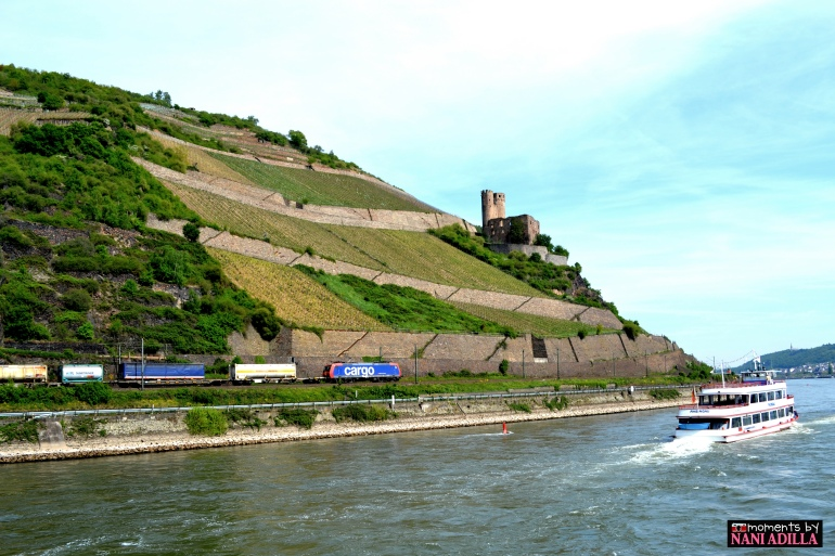 The vineyards and castles; the trains and river-boats