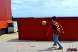 Soccer fever | Barcelona, Spain (Shot on Nikon D3100)