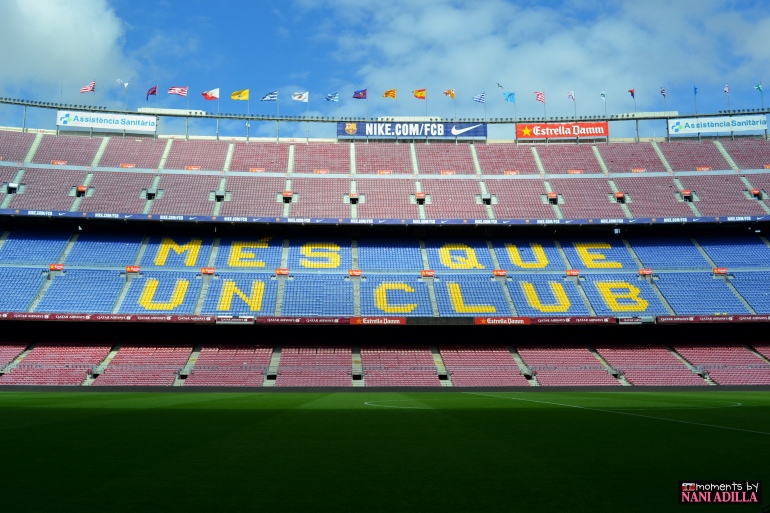 "Barcelona FC at Camp Nou ""More than just a club"""
