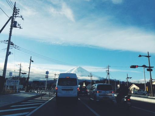 Morning traffic | Fuji, Yamanashi, Japan (Shot on iPhone 5S)