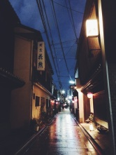 Light falls on an alley in Gion | Kyoto, Japan (Shot on iPhone 5S)