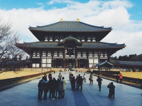 Todai-ji Temple | Nara, Japan (Shot on iPhone 5S, processed with VSCO Cam)