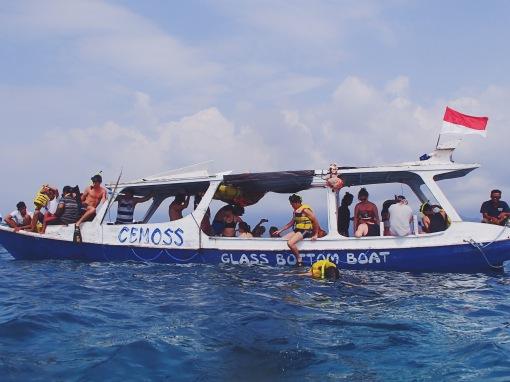 Snorkelling | Gili Trawangan, Lombok, Indonesia (Shot on Olympus TG-630)