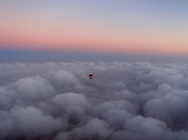 Ballooning above the clouds | Dubai, UAE (Shot on Olympus TG-630)