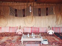A traditional Omani guest room | Wahiba Desert, Oman (Shot on Olympus TG-630)