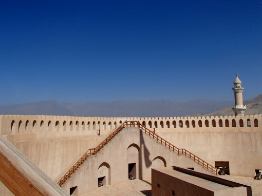 Nizwa Fort | Nizwa, Oman (Shot on Olympus TG-630)