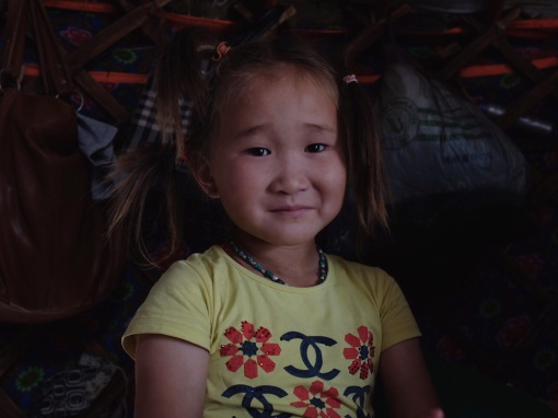 Portrait of a 4-year-old | Gobi Desert, Mongolia (Shot on Fujifilm x100t)