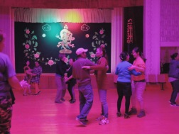 Friday night community dancing | Bogd Village, Mongolia (Shot on Fujifilm x100t)