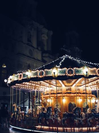 Carousel | Rome, Italy (Shot on Fujifilm x100t)